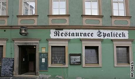 restaurace Špalíček na Zelném trhu v Brně