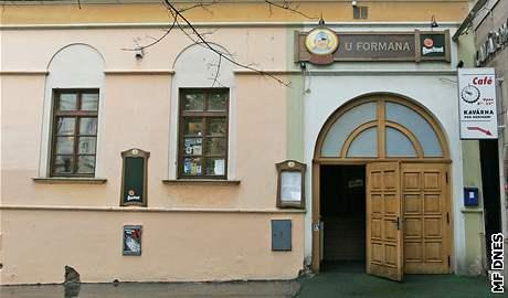 restaurace U Formana v Brně