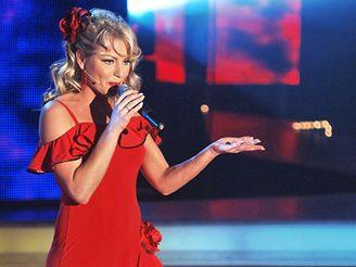 Banánová noc X Factoru - Martina Pártlová