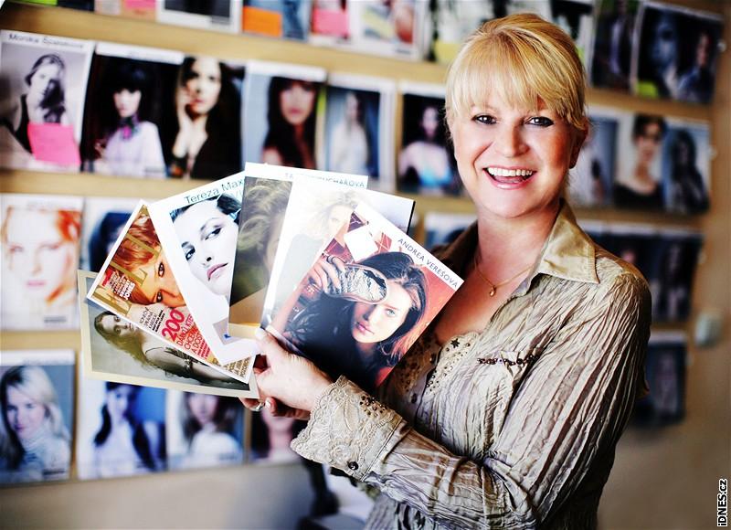 Milada Karasová - ředitelka modelingové agentury Czechoslovak Models