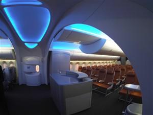 Továrna Boeing - paluba 787 Dreamliner