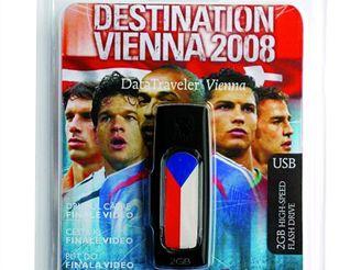 USB klíčenka k EURU 2008