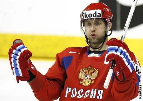 V prodloužení rozhodl atraktivní utkání ruský kapitán Alexej Morozov