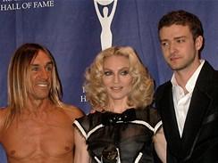 Rokenrolová síň slávy - Iggy Pop, Madonna a Justin Timberlake