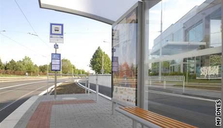 Nová tramvajová zastávka