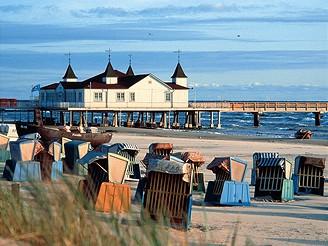 Německo, pobřeží Baltu