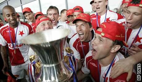 Slavia: oslava titulu 2007/2008
