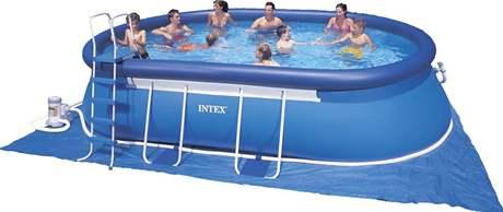 Samonosný bazén s pískovcovou filtrací