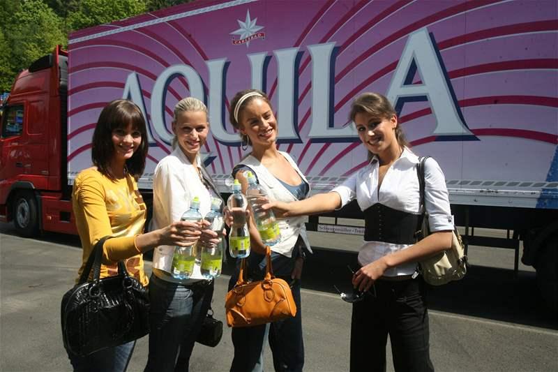 Romana Čechovská, Kristýna Lebedová, Zuzana Jandová a Zuzana Putnářová