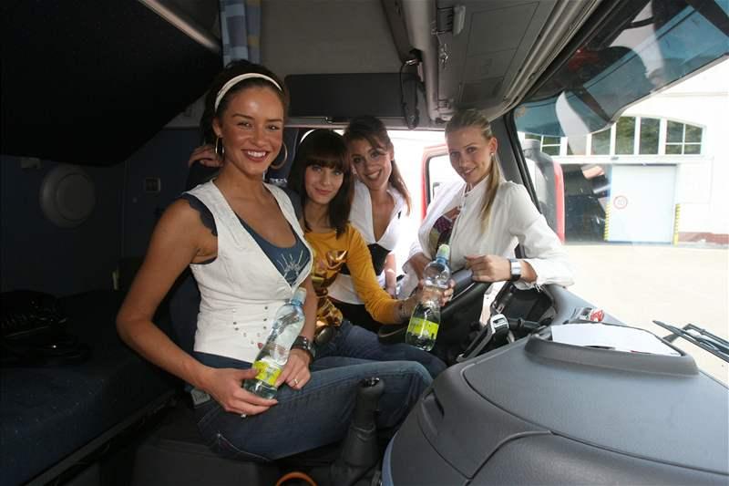 Zuzana Jandová, Romana Čechovská, Zuzana Putnářová a Kristýna Lebedová