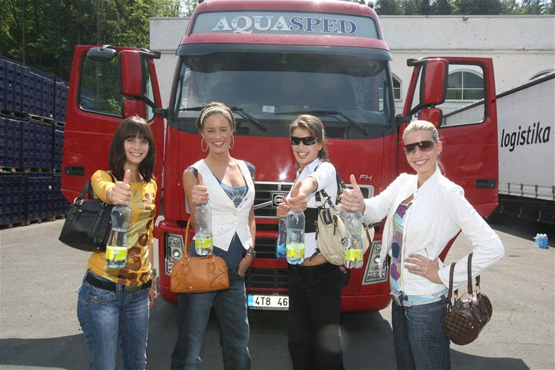 Romana Čechovská, Zuzana Jandová, Zuzana Putnářová a Kristýna Lebedová