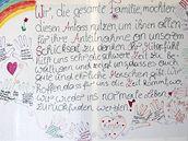 Plakát rodiny Fritzlových v Amstettenu