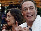 Cannes 2008 - Jean Claude van Damme s manželkou