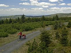Přejezd Orlických hor na kole