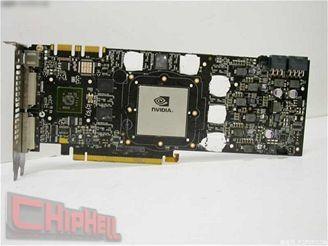 GeForce GTX 280 - pohled z předu