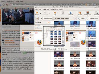 Ubuntu - přepínání mezi aplikacemi