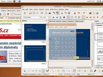 Ubuntu - průhlednost (ALT   kolečko)