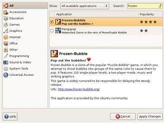 Ubuntu - instalace aplikací