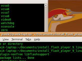 Ubuntu - lupa (Win   kolečko)