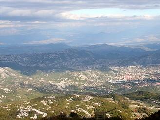 Černá Hora, Lovćen
