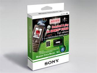 Limitované edice karet FIFA 2008 Memory Stick Micro