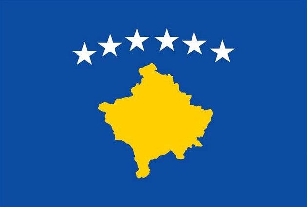 Kosovská vlajka, ilustra�ní foto