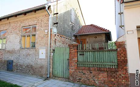 Domek Jiřího Adama v Mikulově. I tam týral pětici seniorek