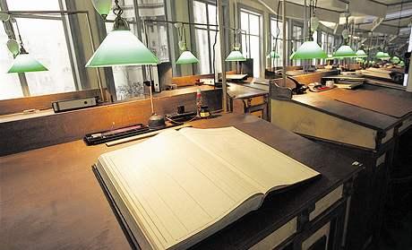 N�rodn� knihovna v pra�sk�m Klementinu