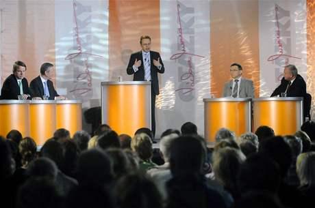 Debata ČT o radaru v Borovně