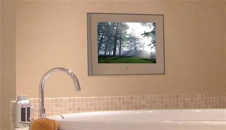 Televize v koupelně