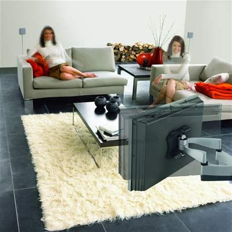 Držák na televizi
