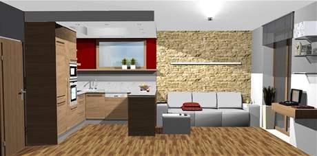 Tři ideální varianty obývací kuchyně