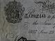 Falešná librová bankovka vyrobená přímo Adolfem Burgerem