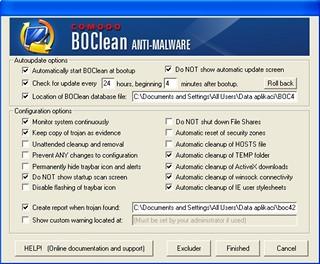 Comodo BOClean Anti-Malware