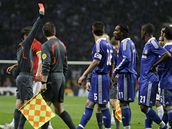 Manchester United - FC Chelsea, Drogba