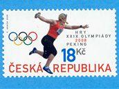Poštovní známka s Věrou Cechlovou