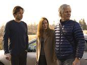 Z filmu Akta X: Chci uvěřit - David Duchovny, Gillian Andersonová a Chris Carter