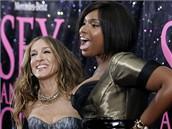 Premi�ra filmu Sex ve m�st� - Sarah Jessica Parker a Jennifer Hudson