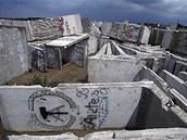 Berlínská zeď pár let po pádu