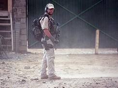 Člen speciální jednotka vojenské policie SOG