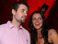 Andrea Vránová-Kloboučková s manželem