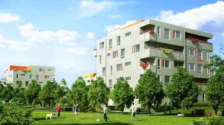 Bytové domy Romance II v Praze 22 v Uhříněvsi