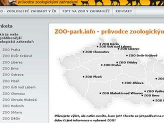 Seznam některých Zoo v ČR