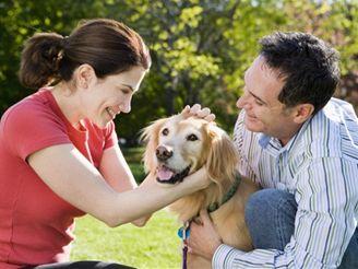 Muž, žena, pes