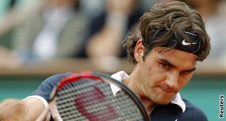 Roger Federer ve finále Roland Garros