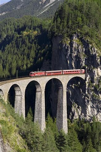 Švýcarsko, Glacier Express