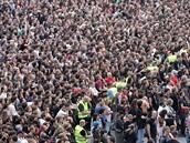 Koncert kapely Metallica - vyprodan� stadion