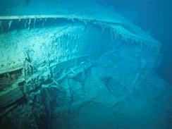 z výstavy Titanic - vrak lodi