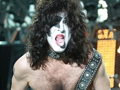 Z pražského koncertu kapely Kiss