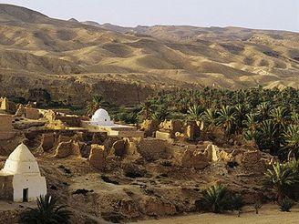 komplex oáz Tozeur, Tunisko